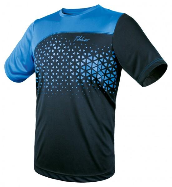 Tibhar T-Shirt Game marine/hellblau