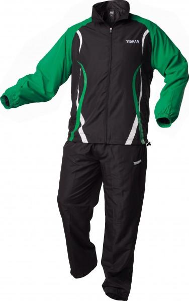 Tibhar Anzug Elite schwarz/grün