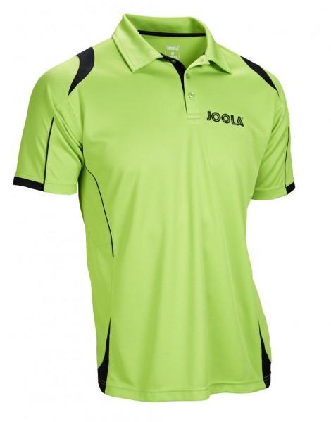 Joola Hemd Emox Baumwolle grün/schwarz