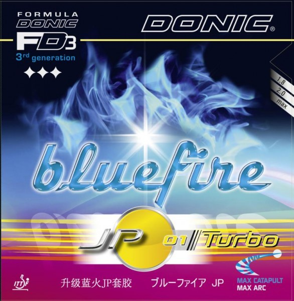 Donic Belag Bluefire JP 01 Turbo