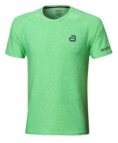 andro T-Shirt Melange Alpha Casual grün