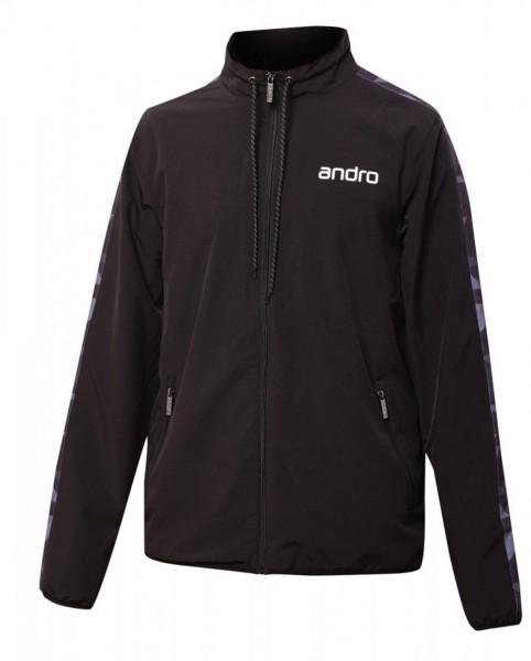 andro Anzugjacke Lennox schwarz/grau