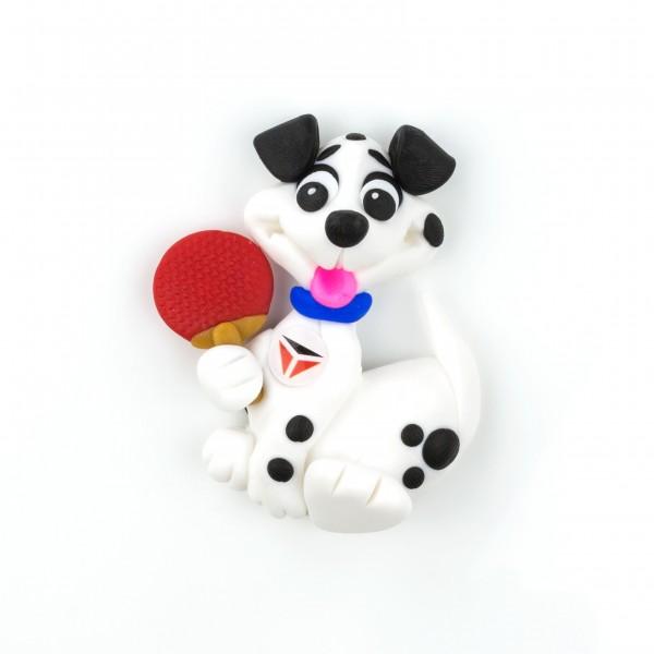 Tibhar 3D-Magnet Hund