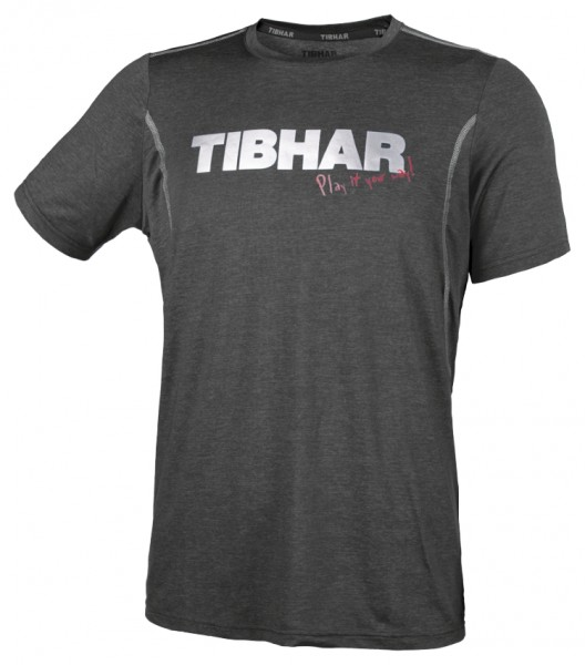 Tibhar T-Shirt Play anthrazit