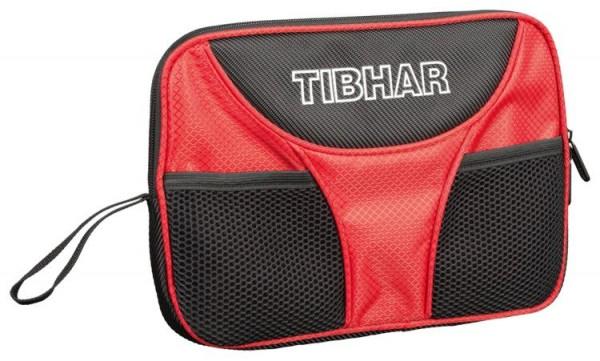Tibhar Einzelhülle Crown schwarz/rot