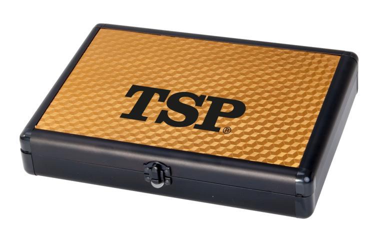 TSP Schlägerkoffer Alucase Pro 3D gold | Schlägerkoffer ...