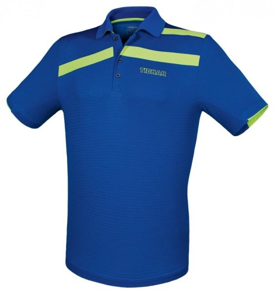 Tibhar Hemd Stripe blau/grün