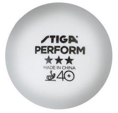 Stiga Ball Perform ABS 40+ *** 72er Pack weiß