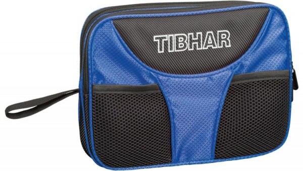 Tibhar Doppelhülle Crown schwarz/blau