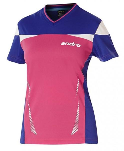 andro Hemd Erin Women pink/blau/weiß