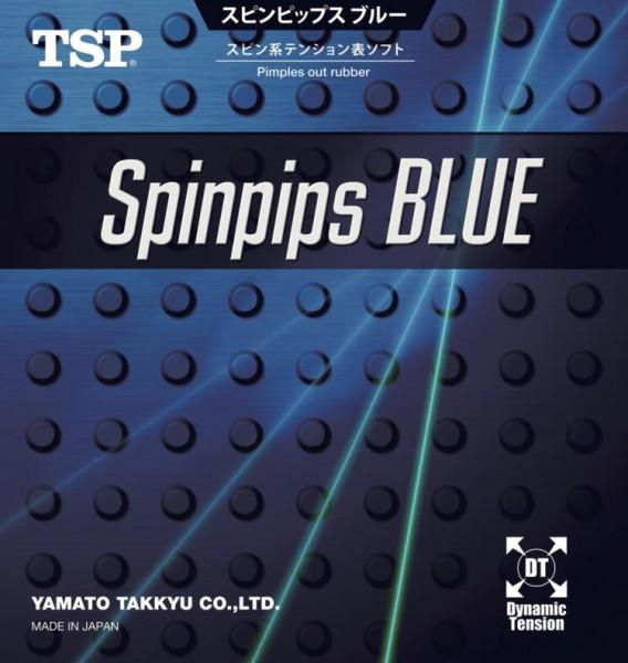 TSP Belag Spinpips Blue