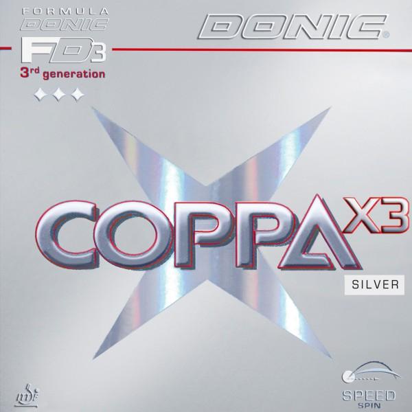 Donic Belag Coppa X3 Silver