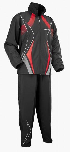 Tibhar Anzug Race schwarz/rot