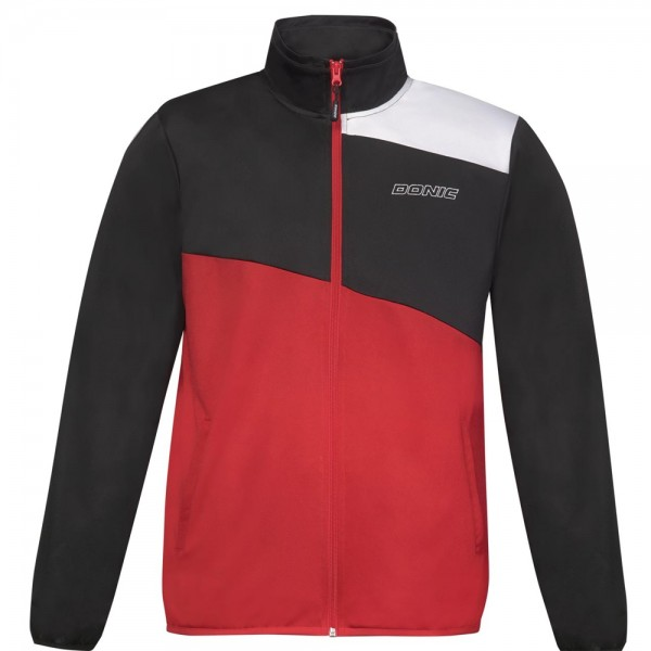 Donic Anzugjacke Heat schwarz/rot