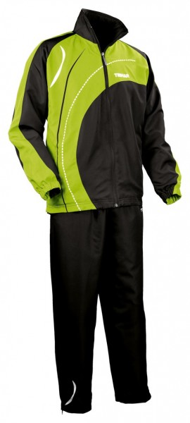 Tibhar Anzug Tour schwarz/grün
