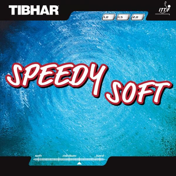 Tibhar Tischtennis Belag kurze Noppen Speedy Soft