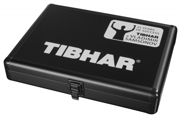 Tibhar Schlägerkoffer Alum Cube VS 25 schwarz