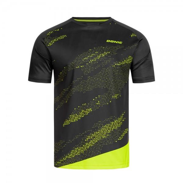 Donic T-Shirt Mirage Kids schwarz/gelb