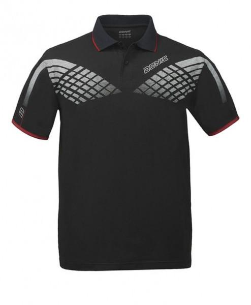Donic Hemd Hyper schwarz