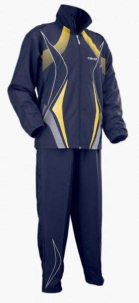 Tibhar Anzug Race marine/gelb