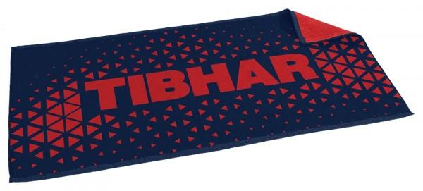 Tibhar Handtuch Game dunkelblau/rot