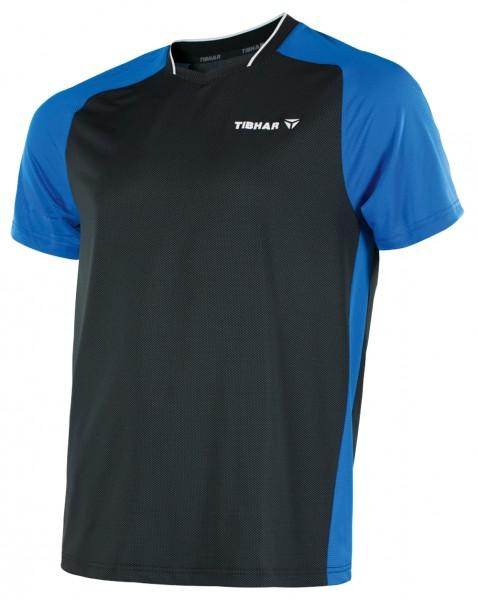 Tibhar T-Shirt Pro schwarz/blau