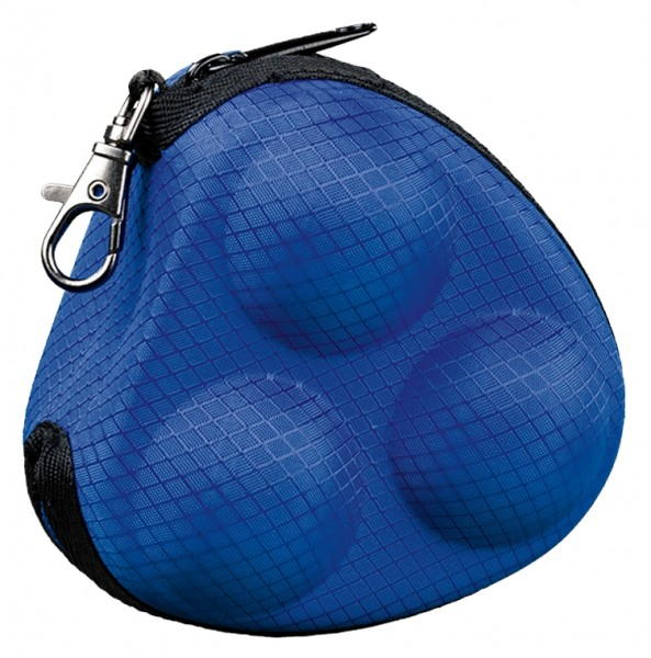 Tibhar Balltasche Grid blau