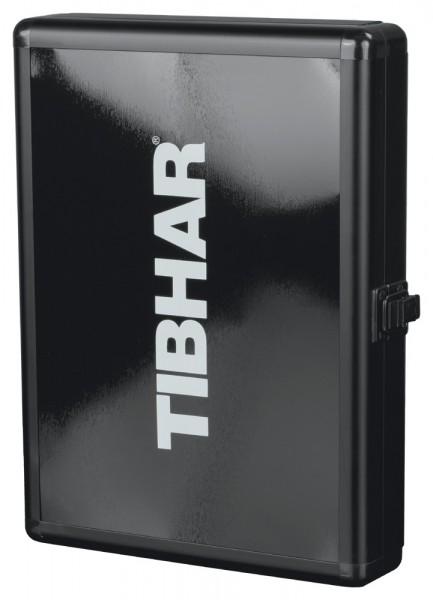 Tibhar Schlägerkoffer Alum Cube Premium schwarz