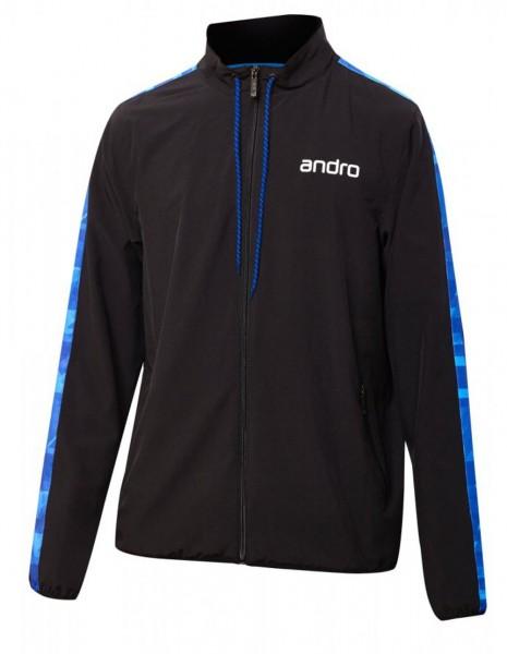 andro Anzugjacke Lennox schwarz/blau