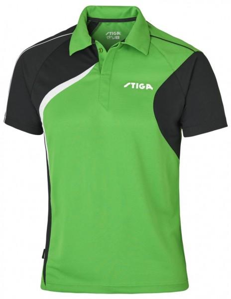 Stiga Hemd Voyage grün/schwarz/weiß