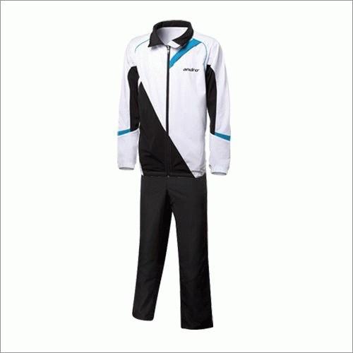 andro Anzug Atsina weiß/schwarz/blau S