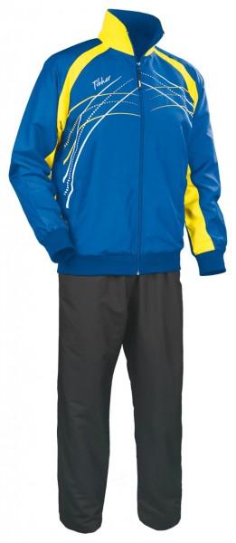 Tibhar Anzug Grip blau/gelb