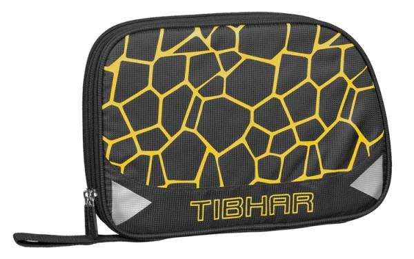 Tibhar Doppelhülle Spider schwarz/gelb