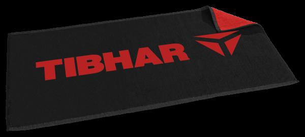 Tibhar Handtuch T schwarz/rot