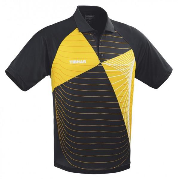 Tibhar Hemd Vibe schwarz/gelb