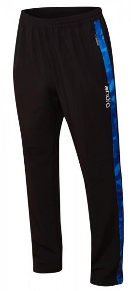 andro Anzughose Lennox schwarz/blau