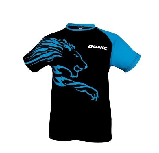 Donic T-Shirt Lion schwarz/blau