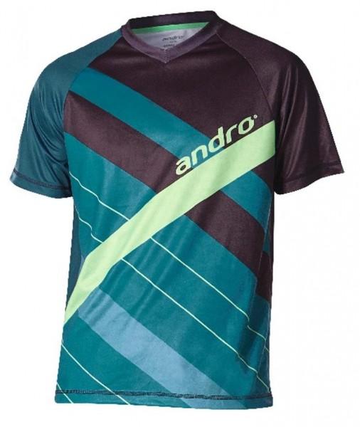 andro T-Shirt Jason grün/schwarz