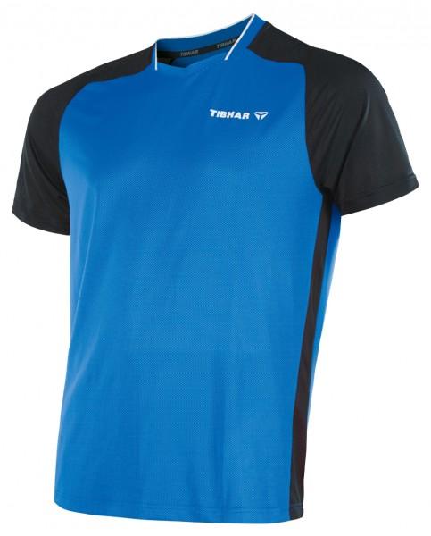 Tibhar T-Shirt Pro blau/schwarz