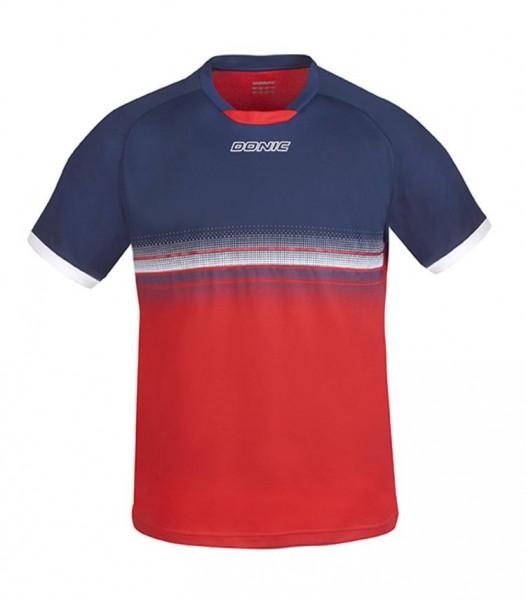 Donic T-Shirt Traxion marine/rot XL