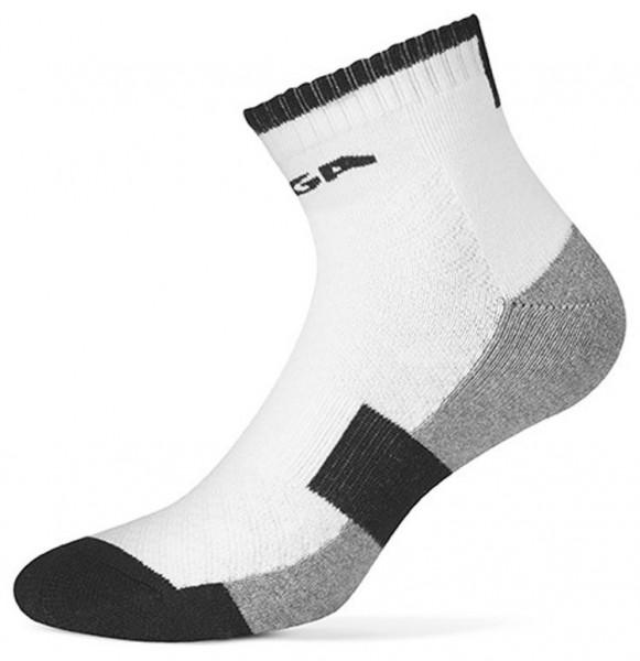 Stiga Socke Premium halflong weiß/schwarz
