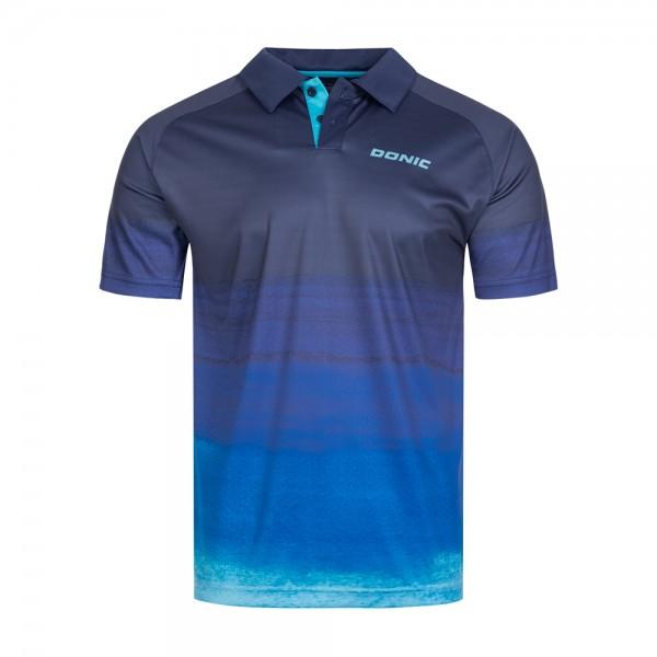 Donic Hemd Force marine/blau