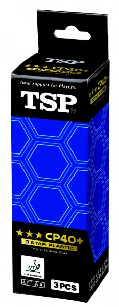 TSP Ball CP40+ *** ABS 3er Pack