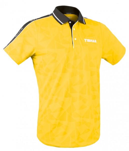 Tibhar Hemd Primus gelb/schwarz