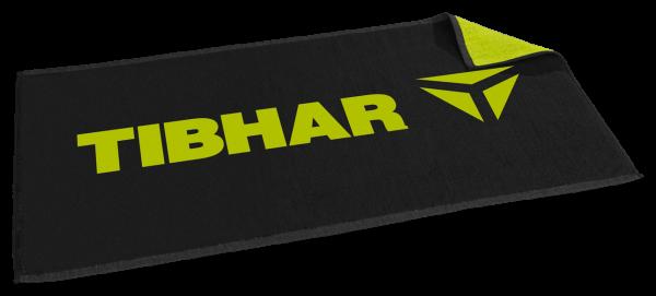 Tibhar Handtuch T schwarz/grün