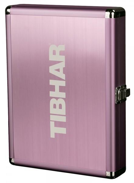 Tibhar Schlägerkoffer Alum Cube Exclusive pink