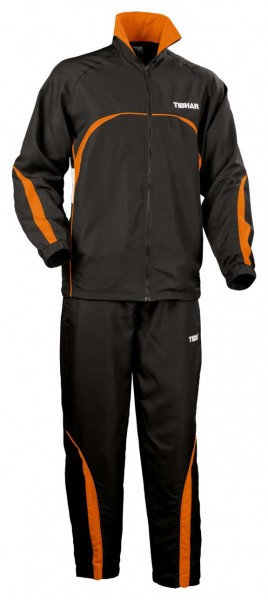 Tibhar Anzug Break schwarz/orange
