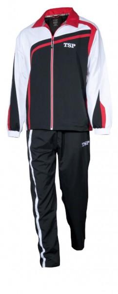 TSP Anzug Kireina schwarz/weiß/rot