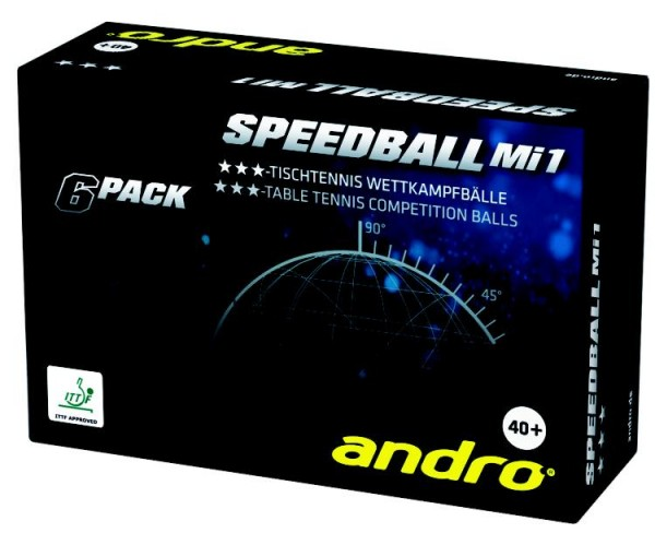 andro Ball Speedball Mi1 40+ *** 6er Pack