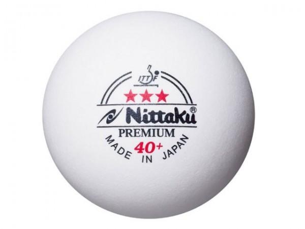 Nittaku Ball Premium 40+ *** ABS 120er Pack